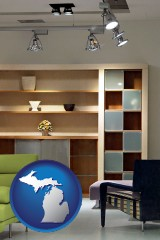 michigan ceiling lights and track lighting