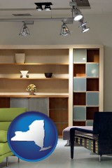 new-york ceiling lights and track lighting