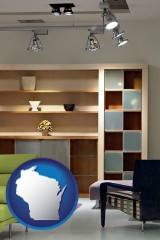 wisconsin ceiling lights and track lighting