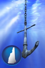 new-hampshire a marine anchor