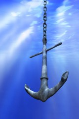 a marine anchor