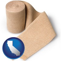california a medical bandage