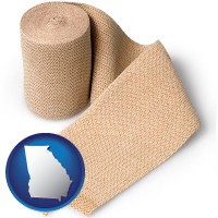 georgia a medical bandage