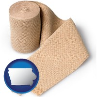 iowa a medical bandage
