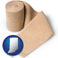 indiana a medical bandage