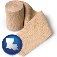 louisiana a medical bandage