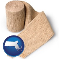 massachusetts a medical bandage