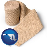 maryland a medical bandage