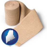 maine a medical bandage