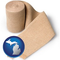 michigan a medical bandage