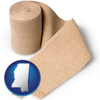 mississippi a medical bandage