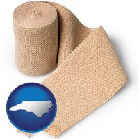 north-carolina a medical bandage