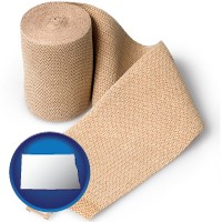 north-dakota a medical bandage