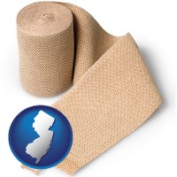 new-jersey a medical bandage