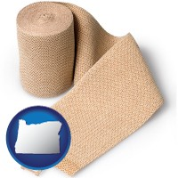 oregon a medical bandage
