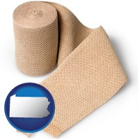 pennsylvania a medical bandage