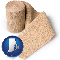 rhode-island a medical bandage