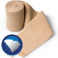 south-carolina a medical bandage