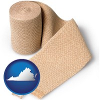virginia a medical bandage