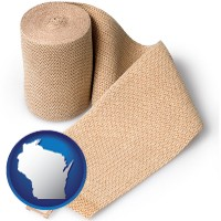 wisconsin a medical bandage