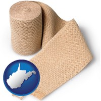 west-virginia a medical bandage