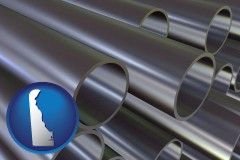 delaware metal pipes