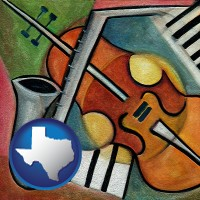 texas musical instruments
