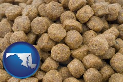 maryland a pet food macro photo