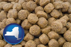 new-york a pet food macro photo