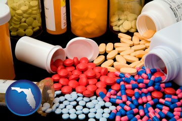 pharmaceutical products - with Florida icon