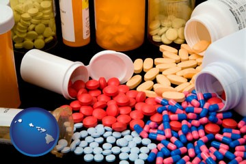 pharmaceutical products - with Hawaii icon
