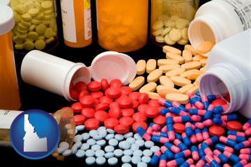 pharmaceutical products - with Idaho icon