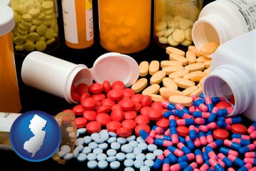 pharmaceutical products - with New Jersey icon