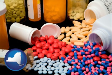 pharmaceutical products - with New York icon