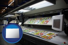 co a commercial offset printing press