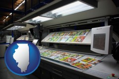 il a commercial offset printing press