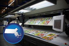 ma a commercial offset printing press