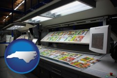 nc a commercial offset printing press