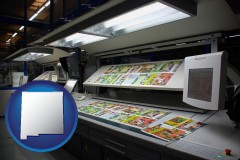 nm a commercial offset printing press
