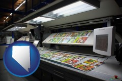 nv a commercial offset printing press