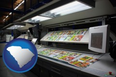 sc a commercial offset printing press