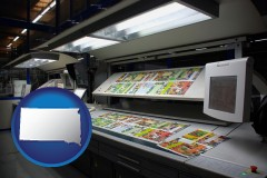 sd a commercial offset printing press