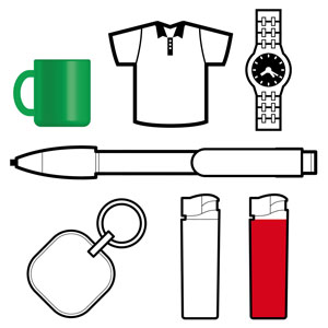 typical advertising promotional items
