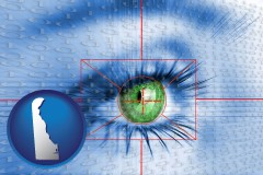 delaware an iris-scanning security system