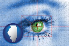 illinois an iris-scanning security system