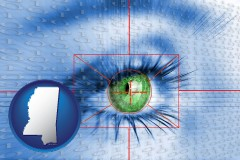 mississippi an iris-scanning security system