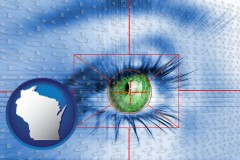 wisconsin an iris-scanning security system