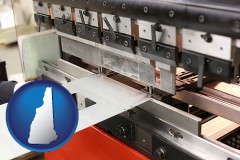 new-hampshire a sheet metal bending machine