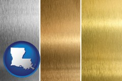 louisiana sheet metal surface textures