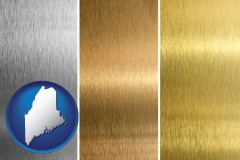 maine sheet metal surface textures